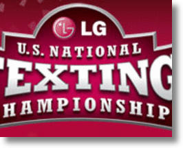 LG 3rd Annual Texting Championship